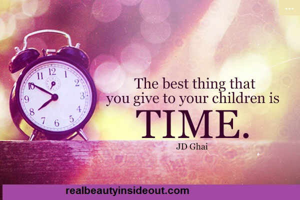 Time-is-the-best-thing-you-can-give-your-children-parenting-teens-father-daughter-relationships-mother-daughter-relationships